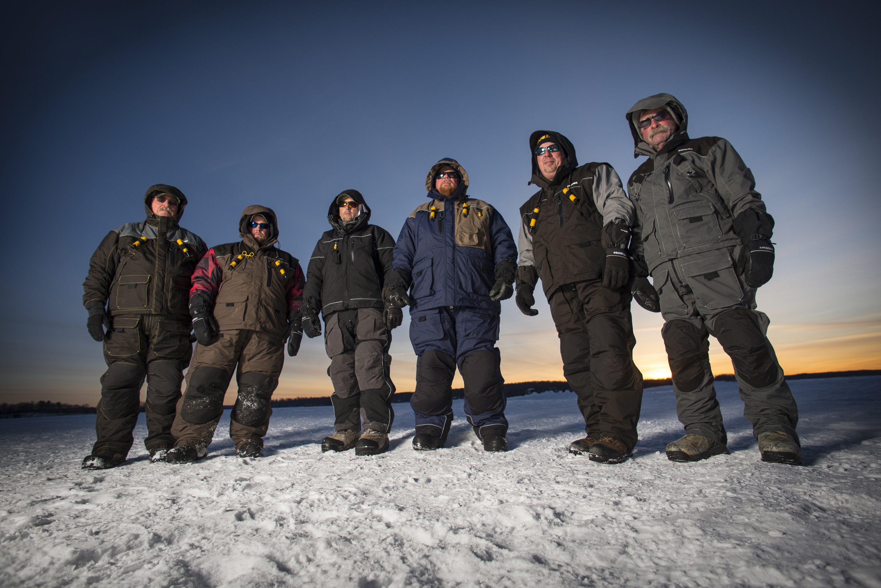 Win the cold war all creation outdoors for Frabill ice fishing suit