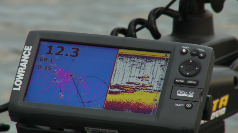 High-quality sonar and GPS can help you find and catch fall crappies.